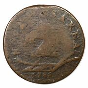 1788 50-f R-4+ Horse Head Left New Jersey Colonial Copper Coin