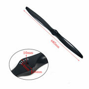 1pc 27x10 Carbon Fiber Propeller For Rc Gas Airplane Engine 27 Inch Gas Prop