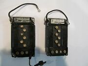 Mariner - Mercury Switch Boxes Off A 1984 Mariner 200 H.p. Outboard