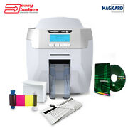 Magicard Rio Pro Duo Complete Double Sided Id Printer System For Mac And Pc