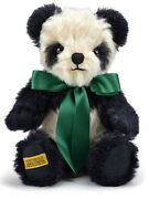 Merrythought Antique Panda Teddy Bear Classic Mohair - 25cm / 10 Inches - Ap10bc