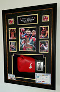 New Kell Brook Signed Boxing Glove Autographed Display