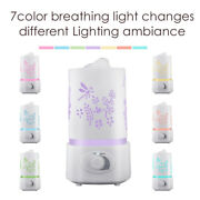 New Ultrasonic Humidifier Air Mist Purifier Room Home Office Freshener Diffuser