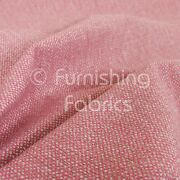 Unique Textured Basket Weave Heavyweight Pink Furnishing Upholstery Fabric