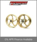 Gold Galespeed Type Gp1s Wheels Yamaha Yzf R1 2009-2014 0 Finance Available