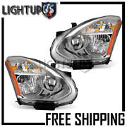 Left Right Sides Pair Hid W/o Kit Headlights For 2008-2015 Nissan Rogue Select