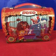 Hallmark School Days Lunchboxes Bozo The Clown 2001 New In Wrapping