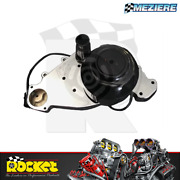 Meziere Electric Water Pump 55gpm Chrome Fits Chev/ Fits Holden Ls - Mzwp319c