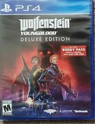 Wolfenstein Youngblood - Playstation 4 Ps4 Deluxe Edition New