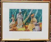 Kenneth Denton Shoesmith Royal Mail Line Art Deco Original Watercolour 1920and039s
