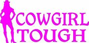 Pink Vinyl Decals- Cowgirl Graphics Stickers Hunting Country Girl Window Truck