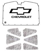 1988 1998 Chevrolet Truck Under Hood Cover With G-047 Bowtie Chev