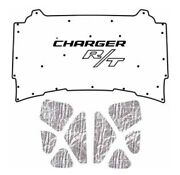 2005 2010 Dodge Charger Under Hood Cover With Mch-155 Charger Rt