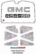 1988 1998 Gmc Truck Under Hood Cover With G-114 Gmc 454-ss