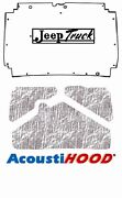 1974 1983 Jeep Truck Sj Under Hood Cover With J-086 Jeep Truck