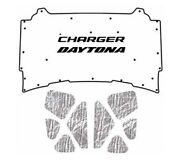 2005 2010 Dodge Charger Under Hood Cover With Mch-150 Charger Daytona