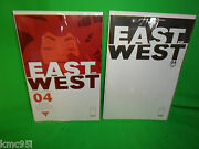 East Of West 4 Blank And Regular Cover Comic Book Set First 1st Print Hickman