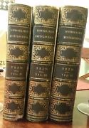 Iconographic Encyclopedia Rare Books Published In 1851 By Rudolph Garrigue
