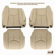 2003-2006 Cadillac Escalade Upholstery Replacement Seat Covers- Color Shale Tan