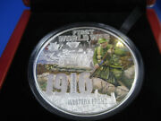 2016 5 Wwi Western Front 5oz Silver Proof - Superb Limited Edition 40