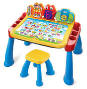 Vtech Touch And Learn Activity Interactive Kids Learning Playing Desk Deluxe
