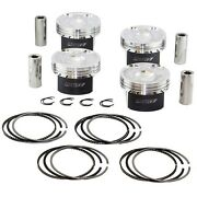 Manley Forged Pistons Extreme Duty For Ford Ecoboost 2.3 87.5mm 9.51 Mustang