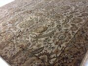 5'.8 X 7'.11 Ivory Gold Fine Ziegler Oriental Area Rug Hand Knotted Wool Foyer