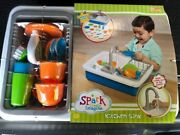 Spark Kitchen Sink Create Imagine Kids Play Toy Real Water