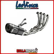 8482s Exhaust Full Leovince Yamaha Yzf 600 R6 2015- Factory S Carbon/carbon