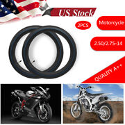 2pc For Honda Crf Xr 70 Crf70 Xr70 Crf70f Xr70r Cr60r Inner Tube 2.50 X 14 Front