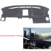 Fits 2004-2008 Ford F150 Truck Dash Cover Dashboard Mat Pad Black New