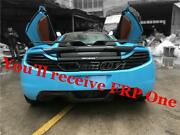 Fiber Glass Rear Spoiler Fit For 11-17 Mclaren Mp4-12c And 650s Yc Design Gt Wing