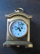 Rare Pepe Le Pew Mini Clock Vintage 90s Watch Timepiece Warner Brothers Wb