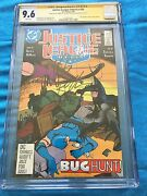 Justice League 1987 26 -dc - Cgc Ss 9.6 -signed By Maguire, Giffen, Dematteis