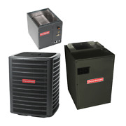 2 Ton 15.5 Seer Goodman Air Conditioning System