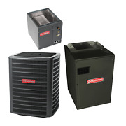 3 Ton 15 Seer Goodman Air Conditioning System