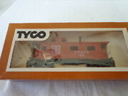 Vintage Tyco Ho Scale A.t. And S. F. Caboose