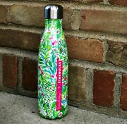 Brand New Lilly Pulitzer Starbucks Lily S'well H2o Bottle Swell Beach Sold Out