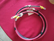 Positive And Negative Battery Cables