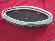 39 Zsc Stainless Steel Oval Engine Vent