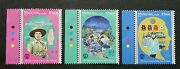 Free Ship Malaysia 100 Years Girl Guides 2016 Uniform Scout Stamp Color Mnh