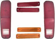 73-79 Ford F-150 F150 F250 Truck 78-79 Bronco Tail Light And Side Fender Kit 6pc
