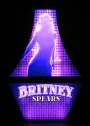Rare Britney Spears Slot Machine Game Lighted Display Sign Las Vegas Piece Of Me