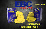 New Ebc Yellowstuff Front And Rear Brake Pads Kit Performance Pads Padkit2523