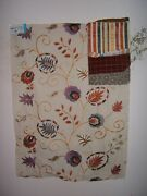 Lee Jofa Gp And J Baker Foxwood Embroidered Floral Various Colors And Sizes