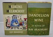 Ray Bradbury - Signed And Inscribed - Two First Editions - Presentation Copies