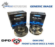 Oem Spec Front And Rear Discs Pads For Ford Focus Mk1 2.0 St170 170 Bhp 2002-05