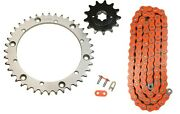 420 Sh Orange Chain And Front Rear Sprocket Kit Fits Ktm 65sx 2015 2016 2017