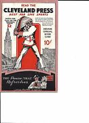 1937 Cleveland Indians-white Sox Program Chisox Top Tribe Nice