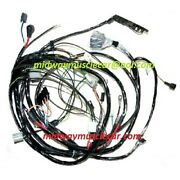 Front End Forward Lamp Light Wiring Harness 71 Chevy Corvette 1971